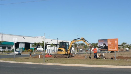 Gracemere Industrial Area July 2015
